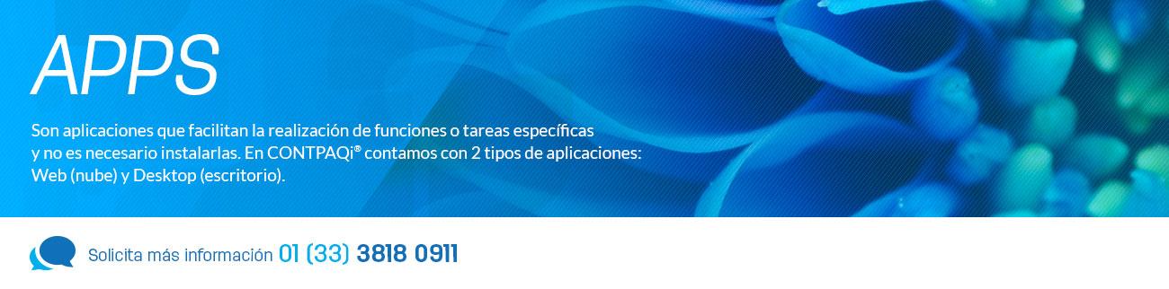 En CONTPAQi te ofrecemos aplicaciones web y de escritorio para funciones o tareas específicas