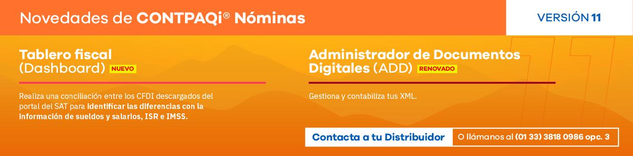 CONTPAQi Nóminas 2014, el programa favorito de las noministas, contadores y encargados de recursos humanos de todo perfil de empresas