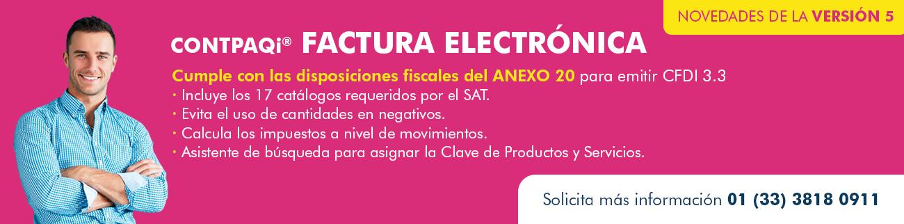 CONTPAQi Factura Electrónica 2014, el programa para empresas y personas físicas dedicadas a proveer servicios y que requieren control de clientes y cuentas por cobrar