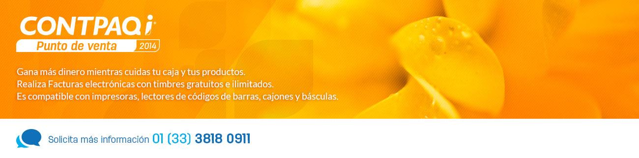 CONTPAQi Punto de venta 2014, el programa para empresas de comercio al detalle que requieren control de su caja e inventarios
