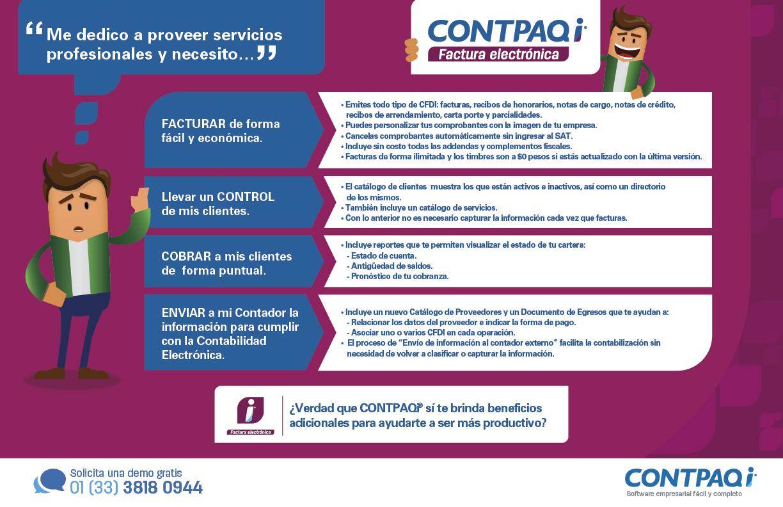 Sistema para Facturación Electrónica en México | CONTPAQi
